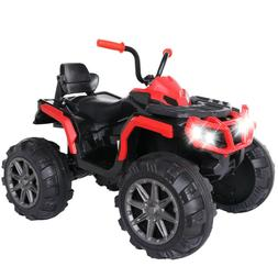 4WD Electric Kids Ride On Police MotorToy Car Remote Control