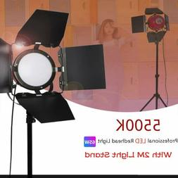 65W Continuous LED Red Head Light Kit Photography Studio Lig