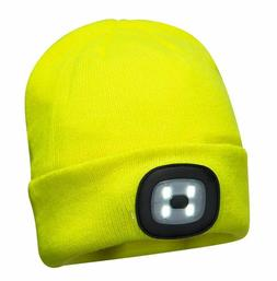 Portwest B029 Outdoor Work Beanie with Rechargeable Safety L