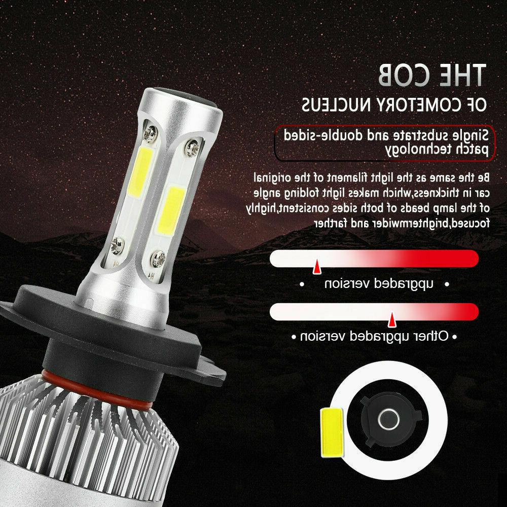 2x 285000LM 1950W Headlight Kit