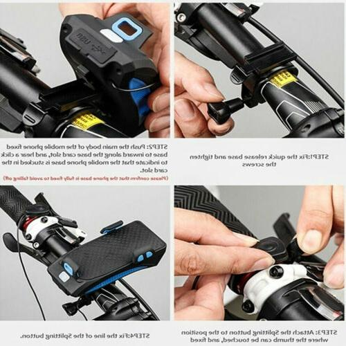 4in1 Rechargeable Bike Horn Bank