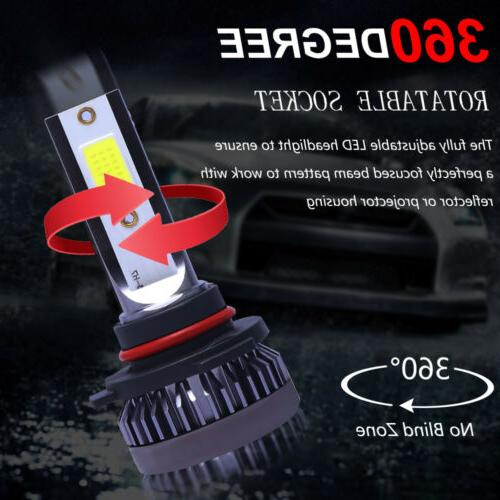COB Headlight Lamp White High Beam