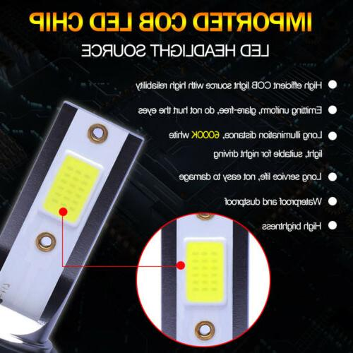 9005 9006 Combo COB LED Lamp White High