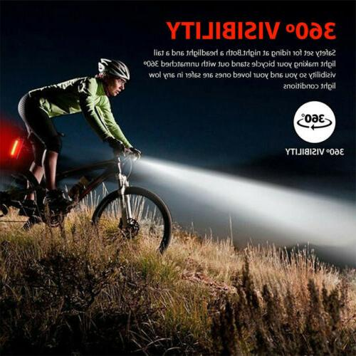 LED Lamp Light Taillight Charging Bicycle Tail