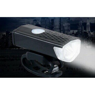 waterproof rechargeable usb led lamp bicycle front